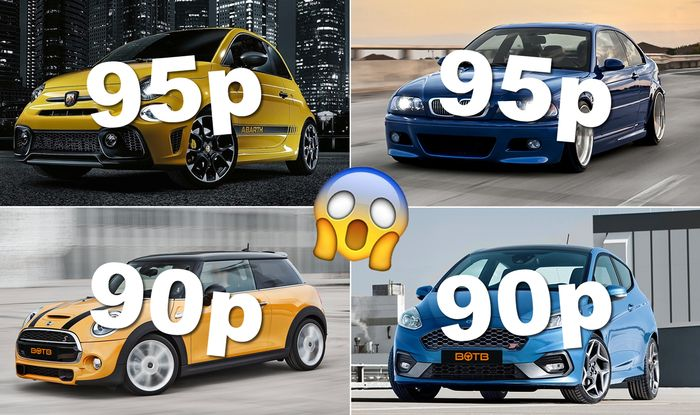 Win a car for less than a quid! Check these out 👀