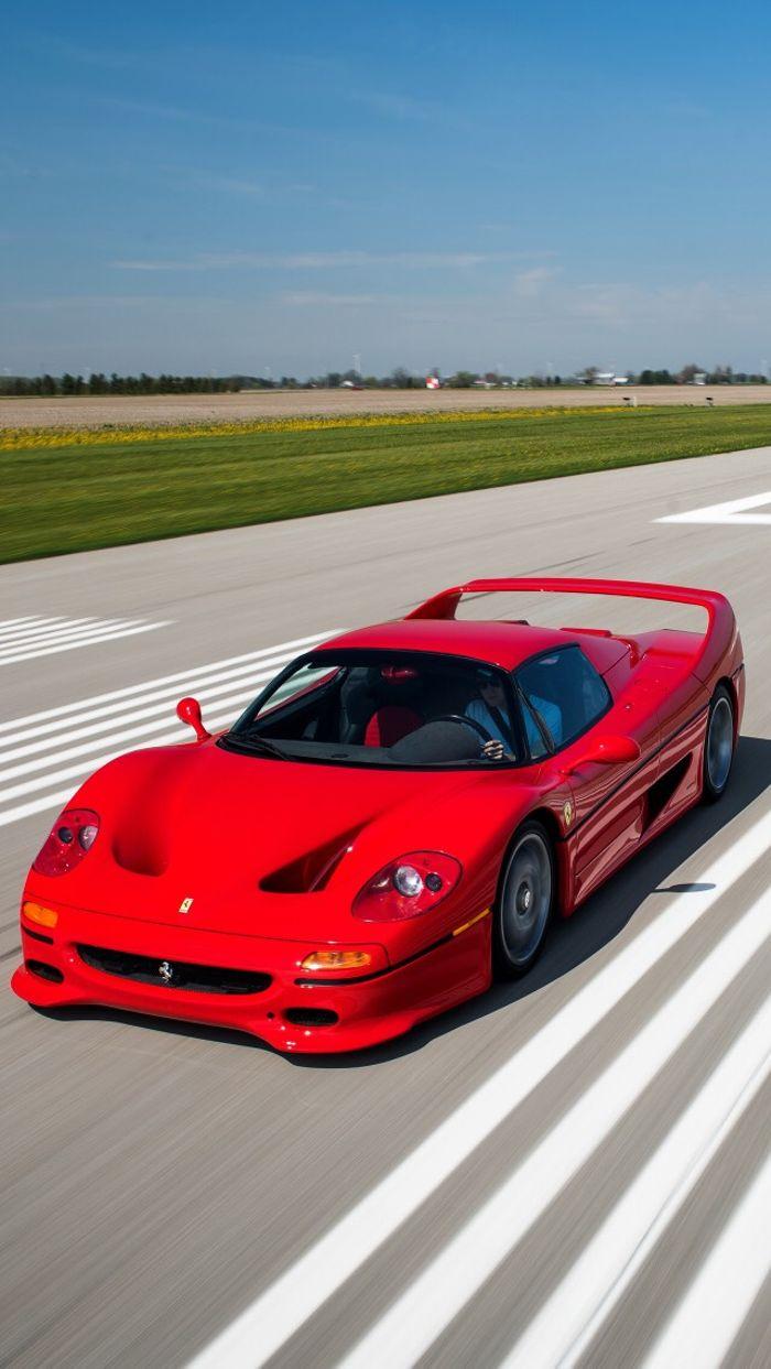 Ferrari F50 Phone Wallpaper