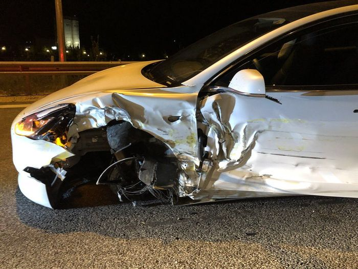 Another Tesla Autopilot Crash Has Wrecked A Model 3 In Greece