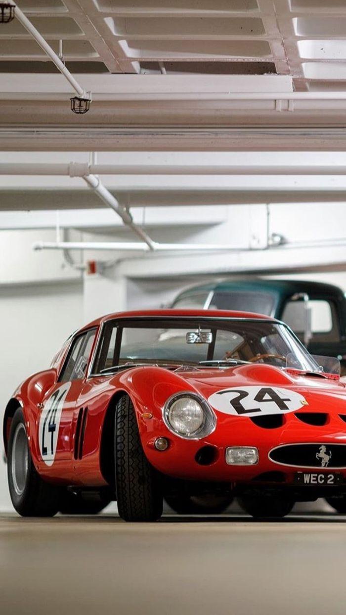 Ferrari 250 Gto Phone Wallpaper By Larry Chen