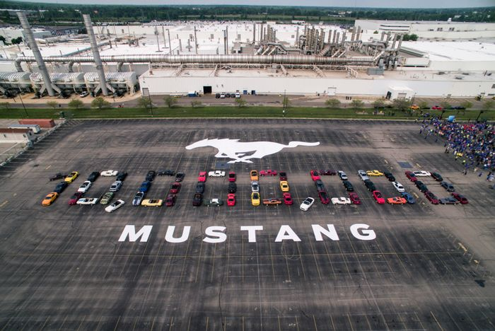 10 millionth Ford Mustang revealed, looks like the first