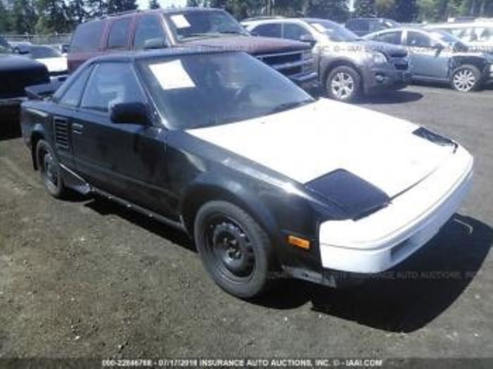 Would you buy the salvage car 1988 Toyota mr2