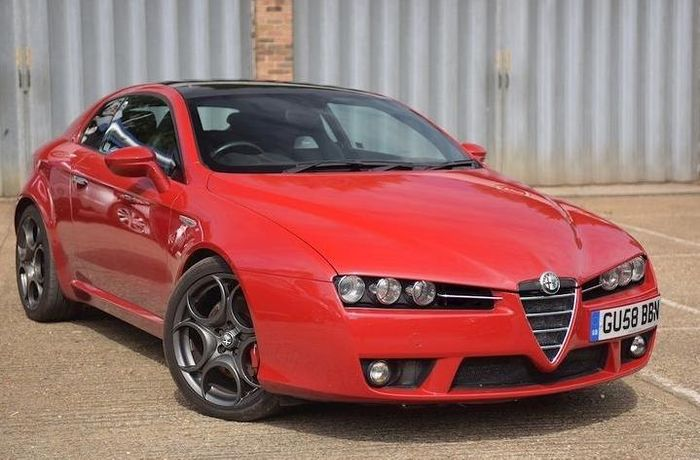 here 39 s an alfa romeo brera s with a 370bhp supercharged v6. Black Bedroom Furniture Sets. Home Design Ideas