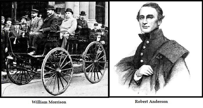 America Wouldn T See Practical Electric Vehicles Ev Until 1890 When Ohioan Chemist William Morrison Built His Own Version Of The