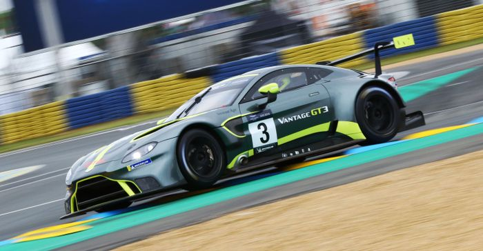 Aston Martin is racing in the DTM!