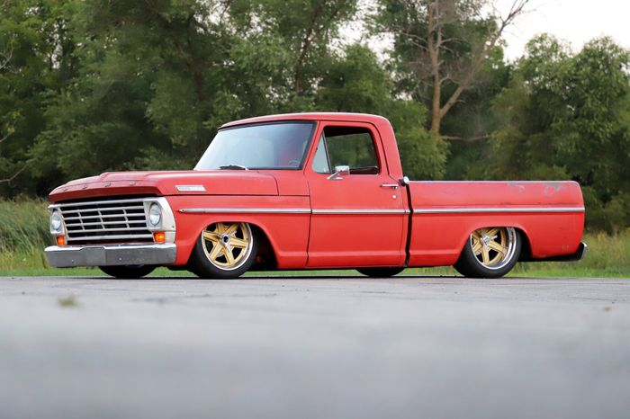 Bill's Roadster Shop 1967 Ford F100 on Forgeline RS6