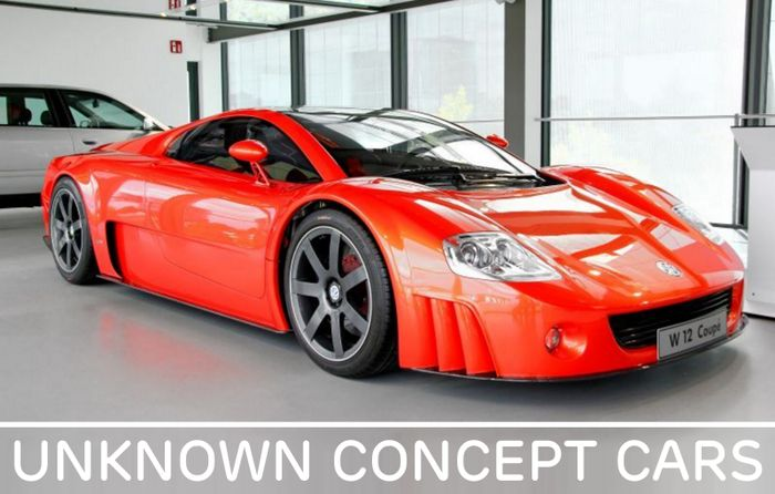 Unknown Concept Cars 5 The 2001 Volkswagen W12 Nard