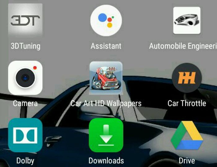 (Car Art HD Wallpapers) make sure to download it if you want cool wallpapers for your phone/ tablet just found it and love it :) I am not sponsored btw