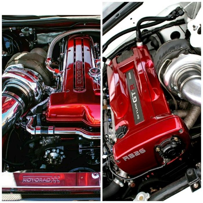 The two best 6-cylinder Japanese engines in line with the
