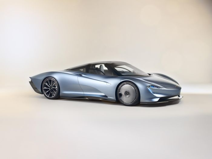 2019 McLaren Speedtail images leak