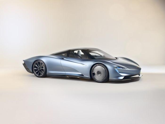 2019 McLaren Speedtail images leak