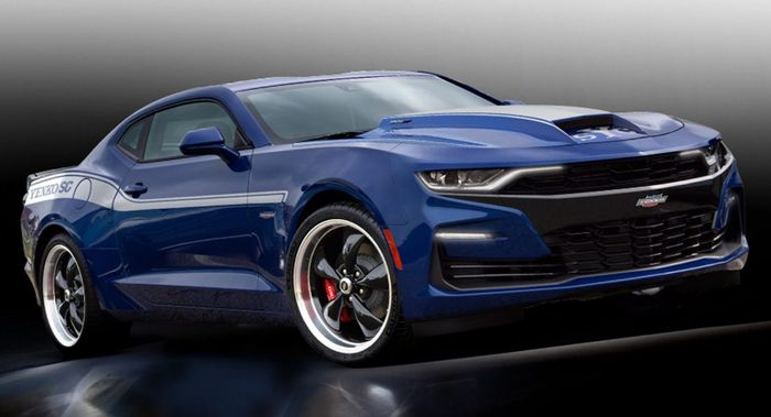 Holy Tyre Smoke, There's Now A 1000bhp Chevrolet Camaro