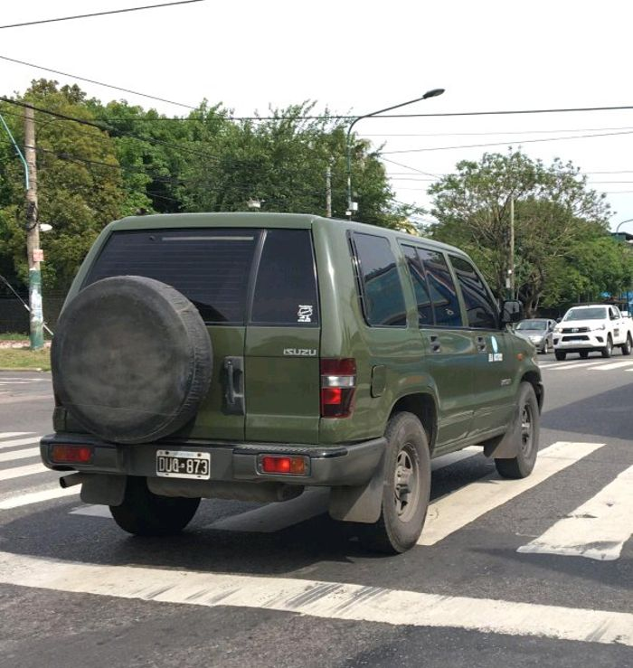 Argentine Army Isuzu Trooper  #Spotted by a friend