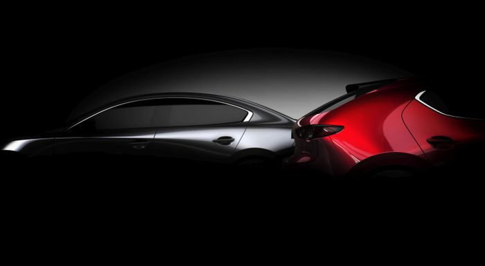 Mazda3 Sedan and Hatchback Teased Ahead of Debut