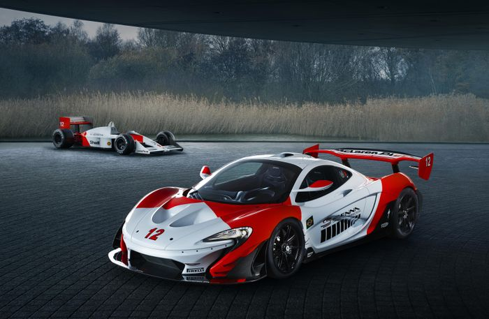 McLaren launches Senna edition P1 auto