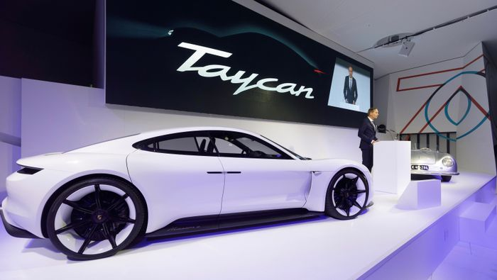 Porsche's Taycan EV is 2019's Most Anticipated Debut