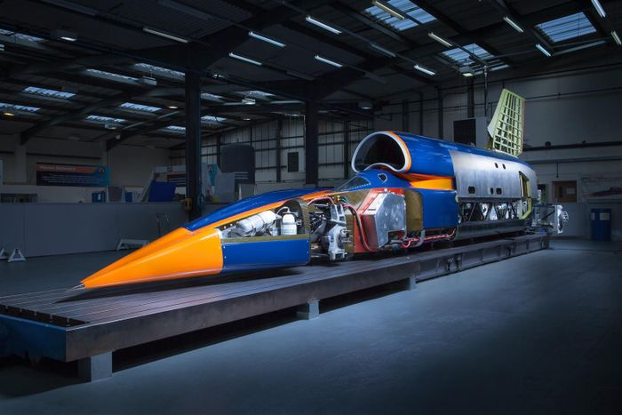 1,000mph Bloodhound supersonic vehicle project bought by British entrepreneur