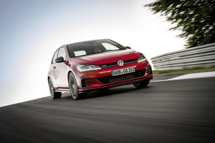 Volkswagen gives the Golf more beef with GTI TCR