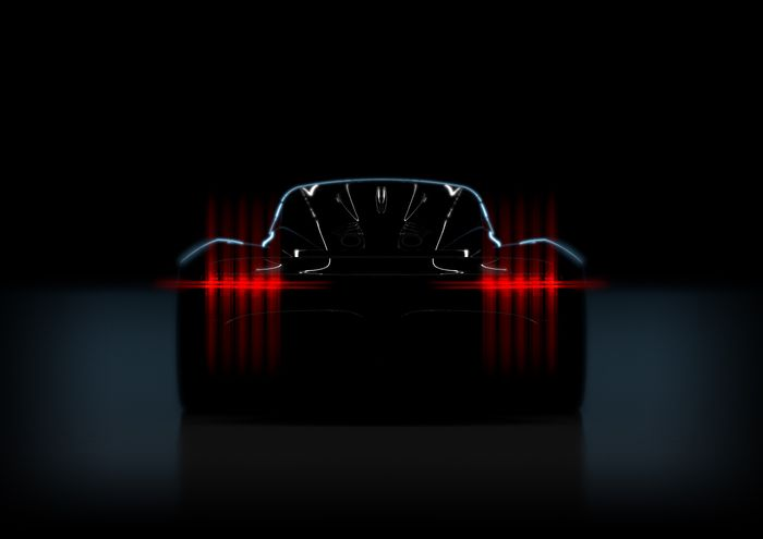 Aston Martin Project 003 teased