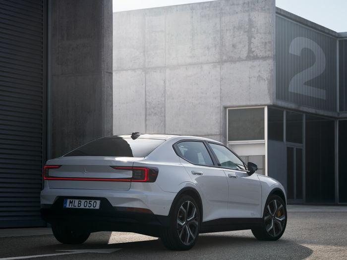 The stylish Polestar 2 takes on the Model 3 with a 275-mile range
