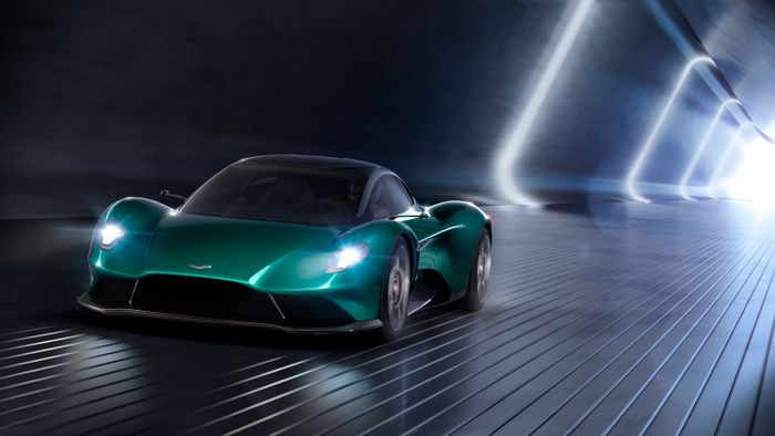 Aston Martin unveils third mid-engine offering with Vanquish Concept