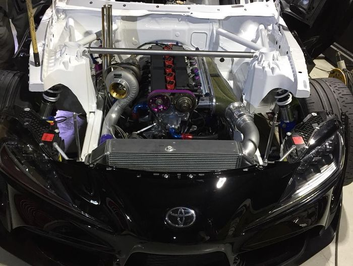 Someone S Already Working On A 2jz Powered A90 Toyota Supra