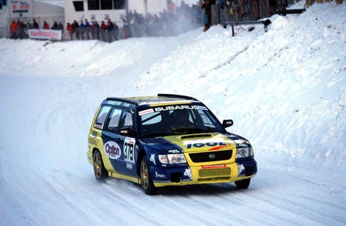 Rally Car of the Day #62 Subaru Forester