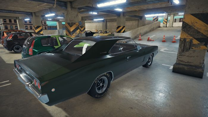My car collection on Car Mechanic Simulator 2018: Garage 1