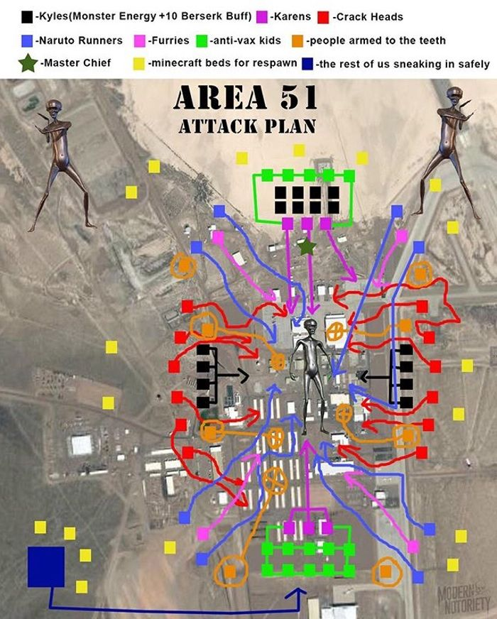 Ok So If Us Car Guys Successfully Raid Area 51 We Can Drag