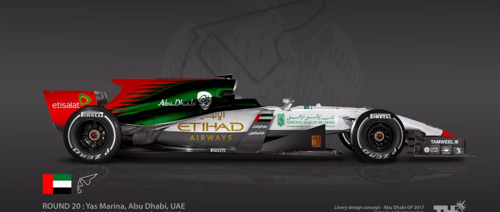 These Designs Turn F1 Races Into Race Liveries
