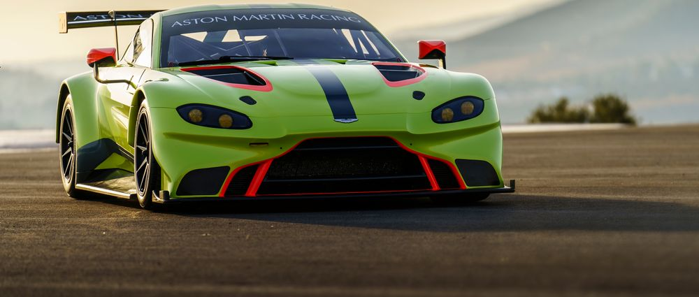 Aston Martin's New WEC Car Is Here And It Looks Incredible