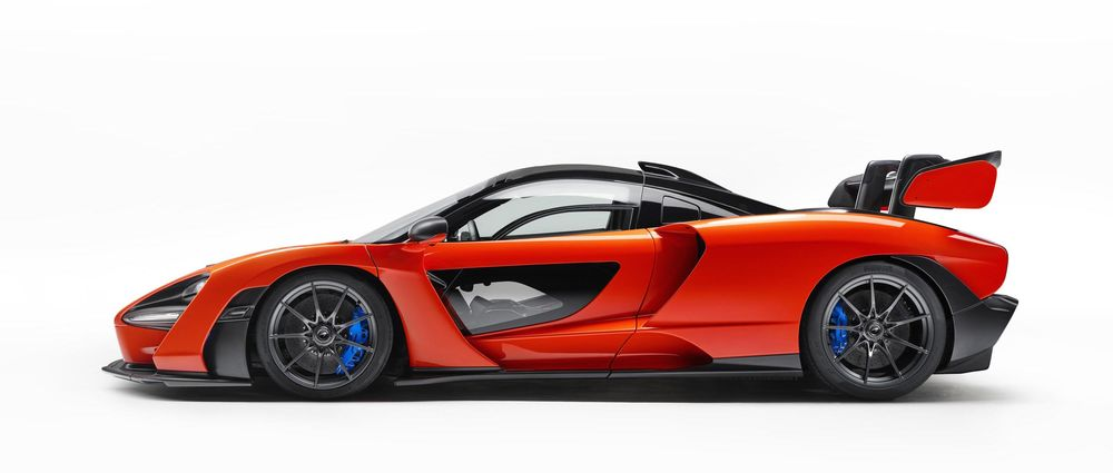 McLaren's Insane New Road Car Is Named After Senna