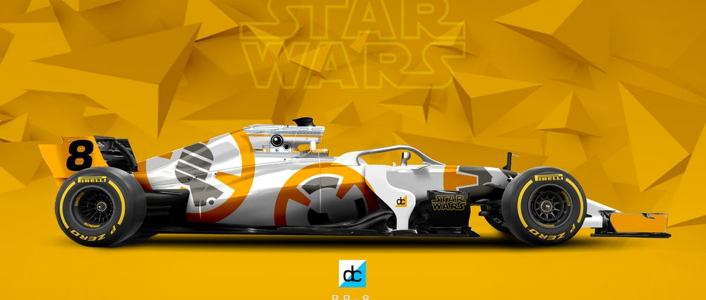 These Star Wars Liveries On F1 Cars Need To Be A Thing