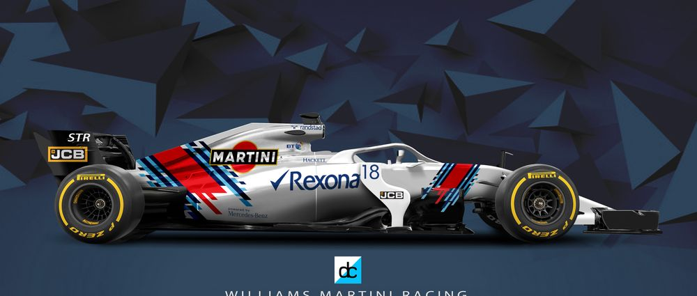 This Fantasy Martini Livery Is Exactly The Sort Of Thing Williams Should Do