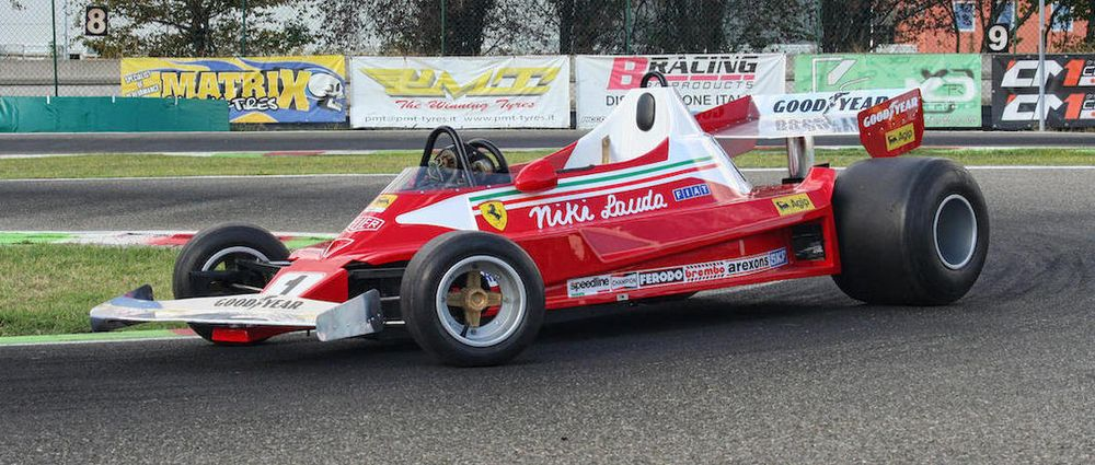 You Can This Half Scale Fully Working Replica Of Niki Lauda S Ferrari F1 Car