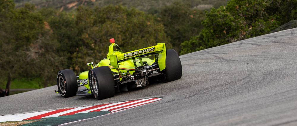The Photos From IndyCar's Recent Laguna Seca Test Look Absolutely Epic