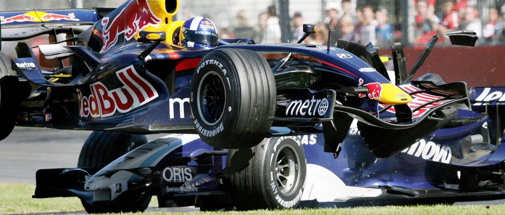 8 Embarrassing Fails From David Coulthard's F1 Career