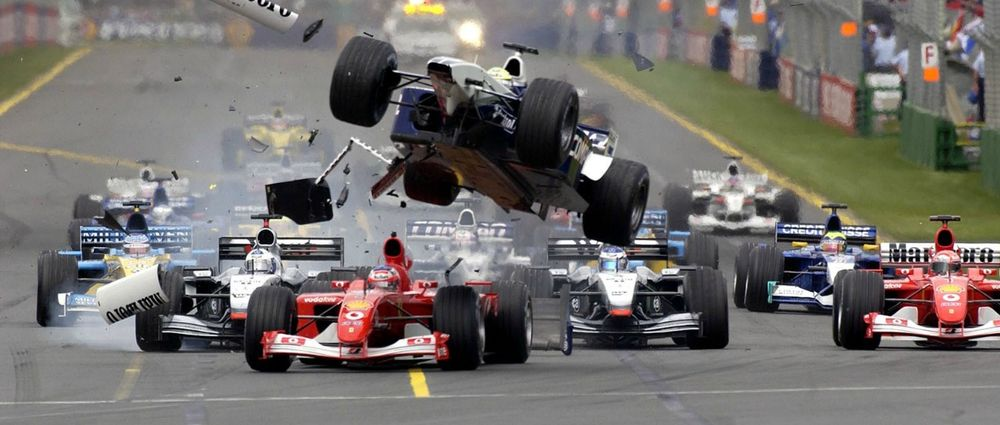 It's Been 15 Years Since Ralf Schumacher Went Flying In Australia