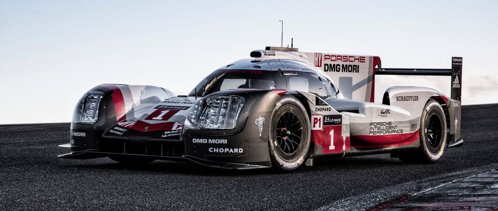 Introducing Porsche's New 919 Hybrid And Its Massive Headlights