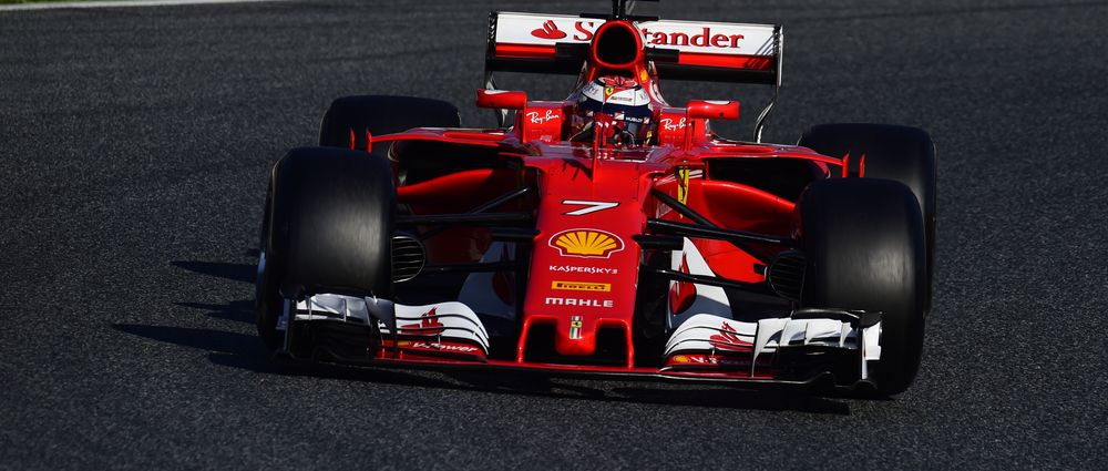 Kimi Raikkonen Ended F1 Testing Fastest With An Outrageous Lap Time