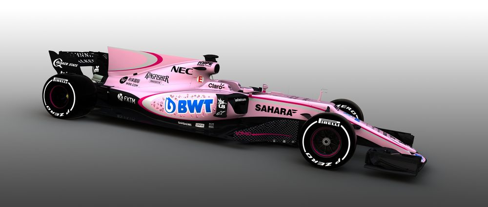 The Internet's Best Reactions To The Pink Force India