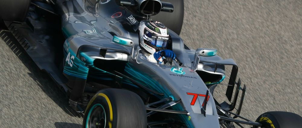 Bottas Crushed The Bahrain Track Record With His First Pole Position