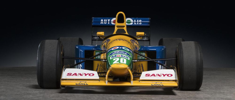 Michael Schumacher's 1991 Benetton Is Going Up For Auction
