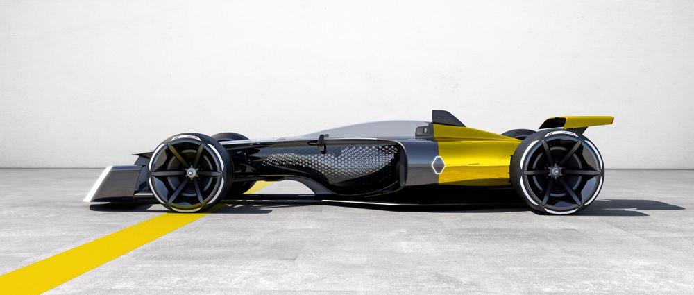 Renault Shows Off Striking 2027 Formula 1 Concept Car