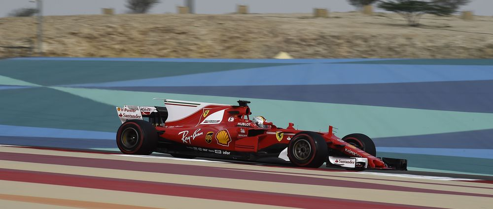 Ferrari Had A Power Cut In The Garage During The Second Day Of Testing In Bahrain