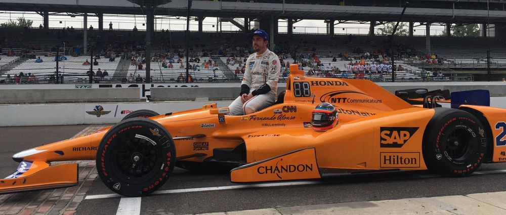 Fernando Alonso Qualifies For Top 9 Shootout For Indy 500