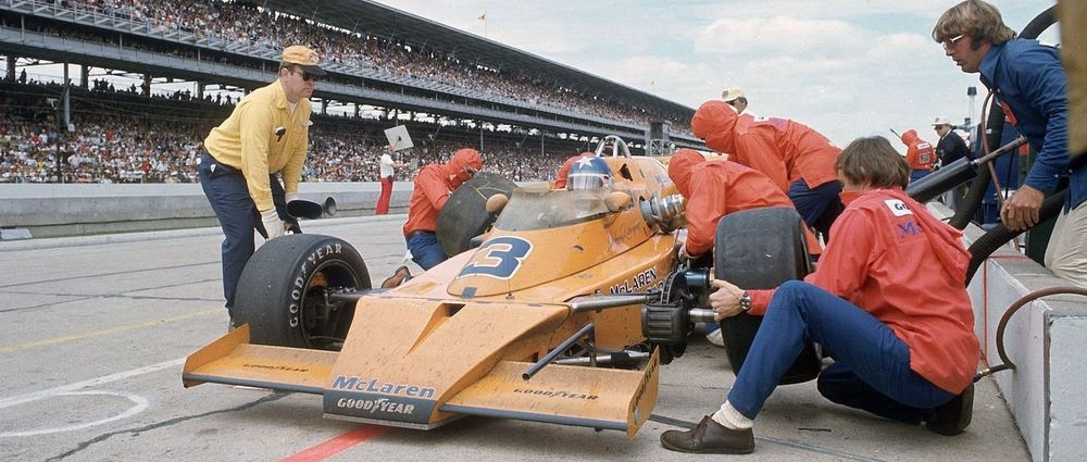 A Throwback To McLaren's Indy 500 Success In The Seventies