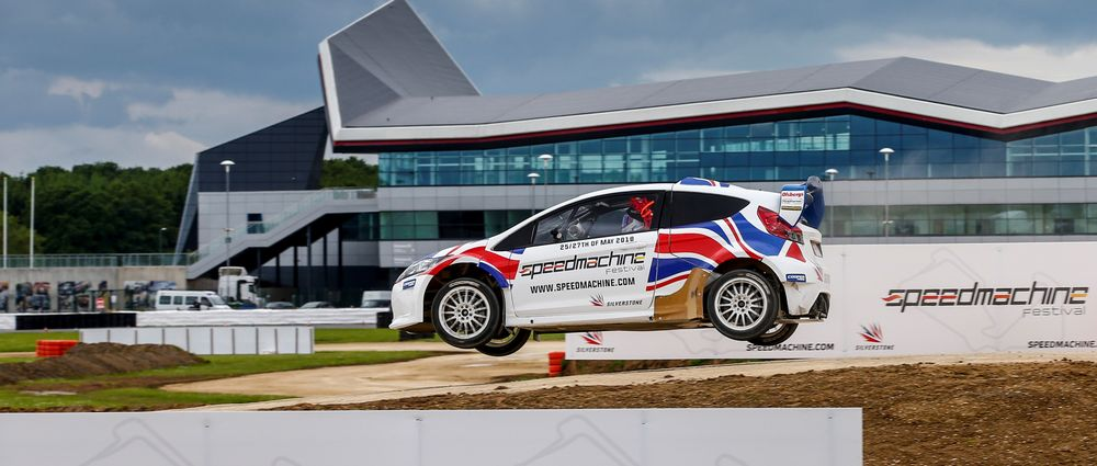 We Took A Ride Around Silverstone's Awesome New Rallycross Course