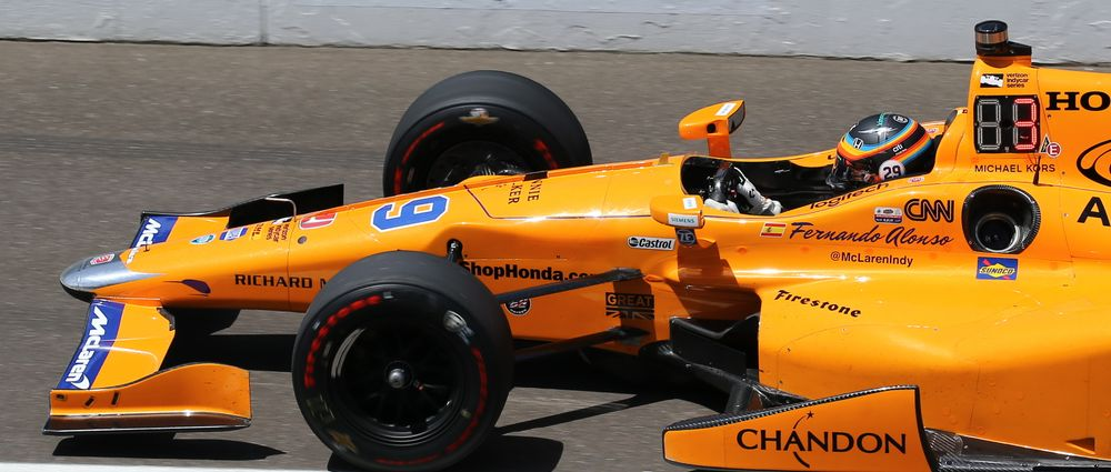 Fernando Alonso Says He Won't Play It Safe In His First Indy 500
