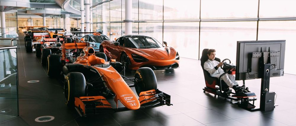mclaren is launching a competition for gamers to become an official